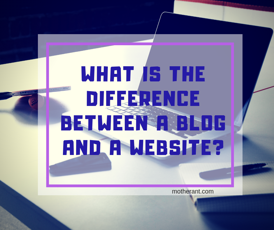 difference of blog and website